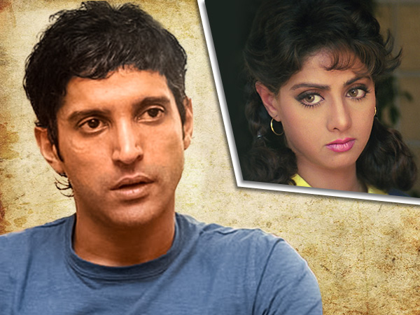 Farhan Akhtar on Sridevi and 'Lamhe'