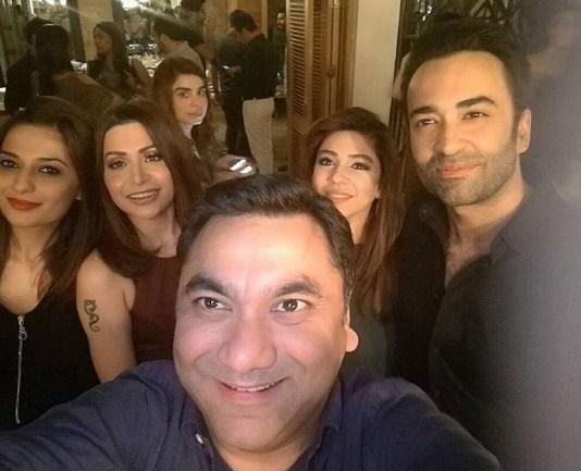 Fawad Khan and Sadaf Khan's friends