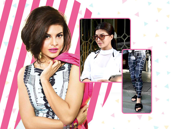 OMG! Jacqueline Fernandez looks supreme while blending two trends in one