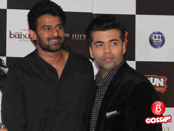 Karan Johar to launch Baahubali aka Prabhas in Bollywood?