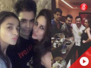 Watch: Kareena Kapoor-Saif Ali Khan, Alia Bhatt-Sidharth Malhotra at Dewan's Bash