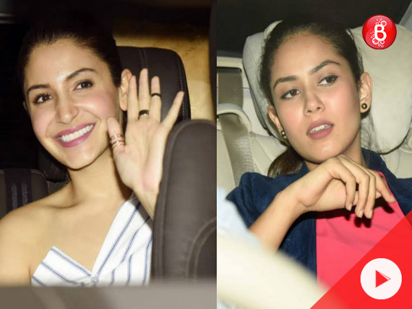 Mira Rajput and Anushka Sharma