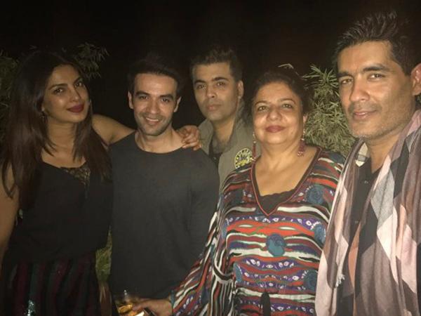 INSIDE PICS! Priyanka Chopra is having a gala timewith her B-Townfriends