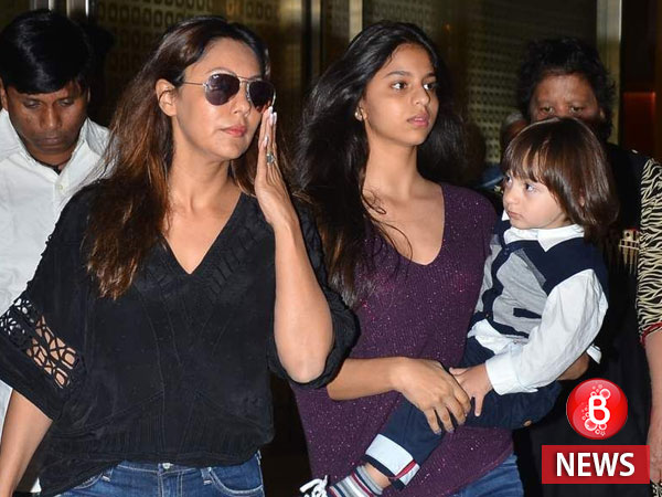 Gauri Khan and Suhana Khan