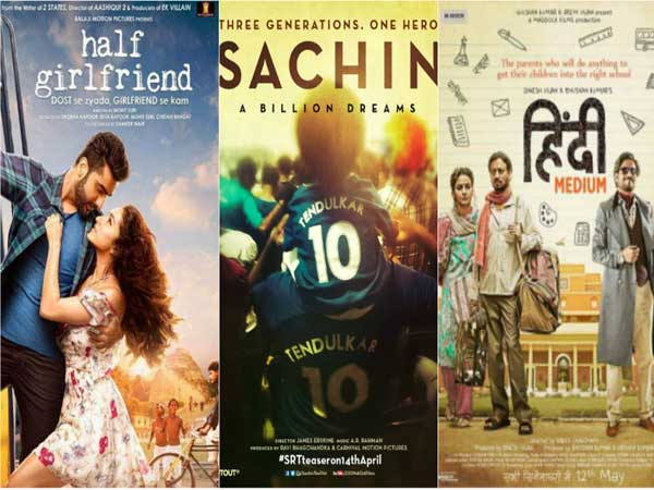 'Sachin: A Billion Dreams' holds well, 'Hindi Medium' becomes a HIT, 'Half Girlfriend is slow