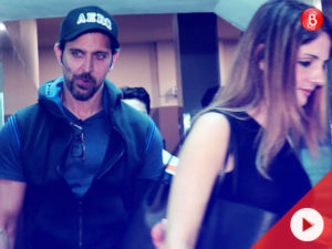 Spotted: Hrithik Roshan, Sussanne Khan and family go out on a movie date