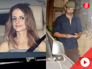 WATCH: Hrithik Roshan and Sussanne Khan party together along with their B-Town friends