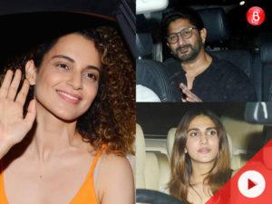 WATCH: Kangana Ranaut, Arshad Warsi and others attend'Meri Pyaari Bindu'screening