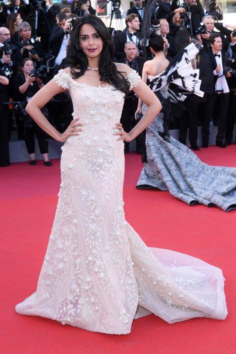 Mallika Sherawat at Cannes 2017