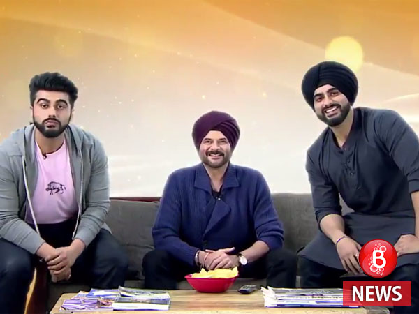 Anil Kapoor plays uncle to two Arjun Kapoors in Anees Bazmee's comedy