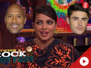Who has a bigger d**k, Dwayne Johnson or Zac Efron? Priyanka Chopra has a classic reaction to this!