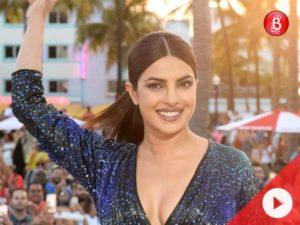 Watch: Priyanka Chopra sizzles in a blue dress at Baywatch World premiere