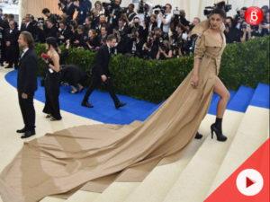 Watch: Priyanka Chopra trolled for long dress at Met Gala 2017
