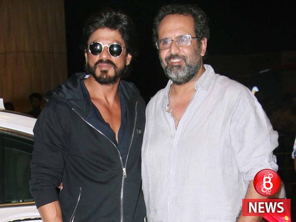 SRK Anand L Rai film shoot