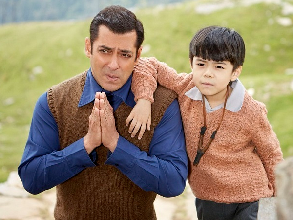 Salman Khan and Matin Rey Tangu in Tubelight