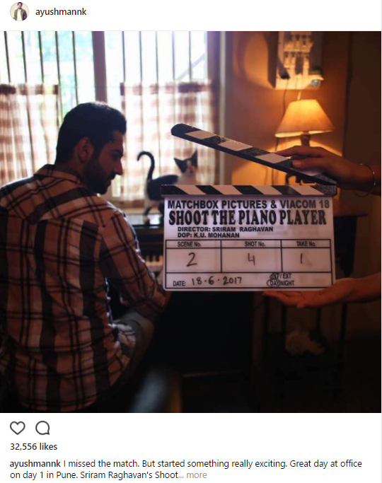 Ayushmann Khurrana's Next 'Shoot The Piano Player' Goes On Floors