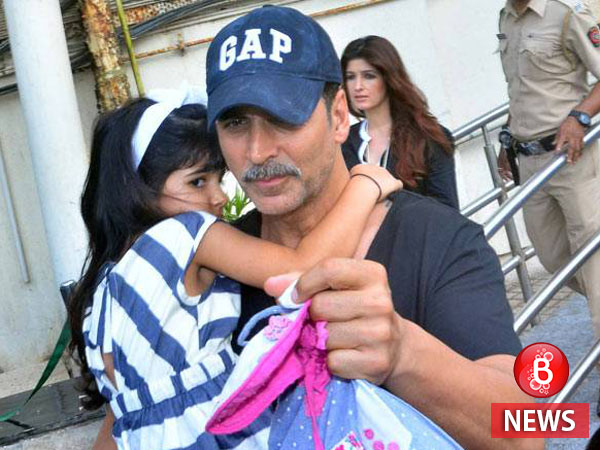 Akshay Kumar's day out goes wrong with his daughter