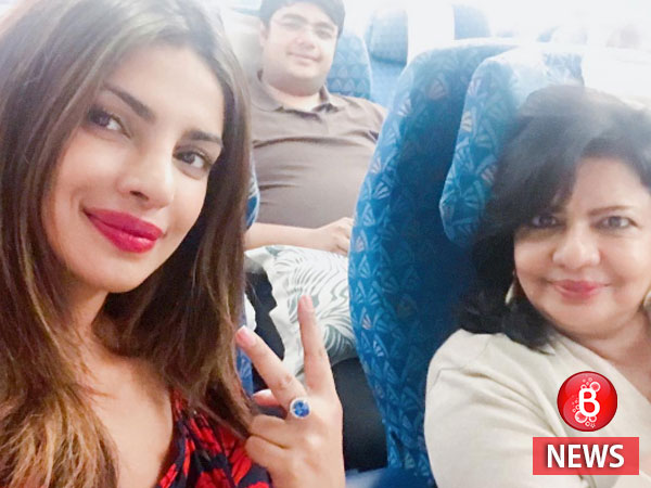 Priyanka Chopra Enjoying a Vacation with Her Family to Celebrate Her Birthday