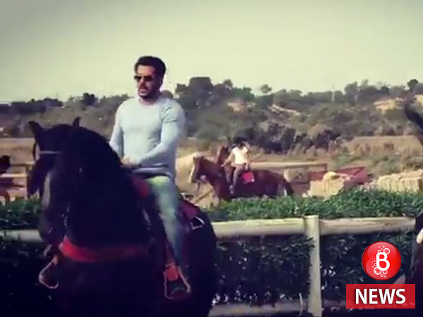 Salman Khan takes horse riding lessons for