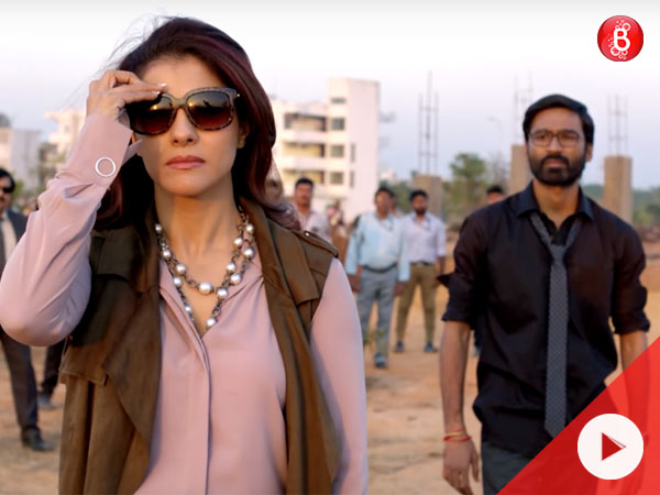 VIP 2 Lalkar Trailer: Kajol and Dhanush promise a good 'political game'