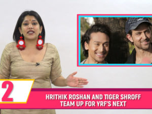 Hrithik and Tiger all set to star in a film together! Watch tonight's Bubble Bulletin