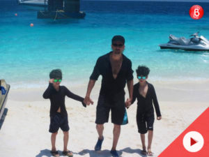Watch: Hrithik Roshan's South African escapade with family