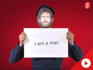 Watch: A man's perspective on how society perceives men