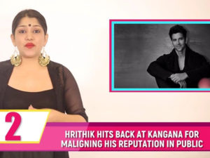 Hrithik claims he NEVER met Kangana personally! Watch tonight's Bubble Bulletin