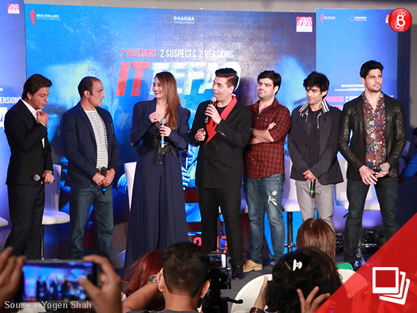 SRK and team 'Ittefaq' dazzle the audience at the press con! VIEW PICS