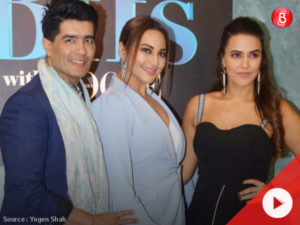 Watch: Sonakshi, Neha and Manish on the sets of 'Vogue BFFs'