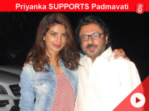 Priyanka comes out in SUPPORT of SLB's 'Padmavati'