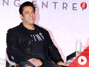Watch: Salman Khan pulls off his signature style like a boss at an event