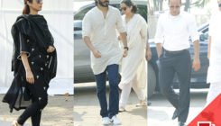 Pics: Tabu, Harshvardhan, Akshaye Khanna and others arrive to pay their last respects to Sridevi