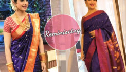 Madhuri's paithani saree reminds us of Sridevi's Marathi mulgi avatar!