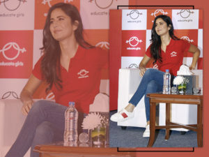 Watch: Katrina Kaif speaks on the importance of education at an event