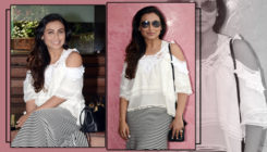 Rani Mukerji is all smiles as she continues to promote 'Hichki' after the film's success. View Pics!