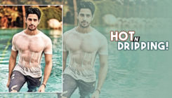 Sidharth Malhotra's dip-in moment by the pool is giving us cosy vibes here