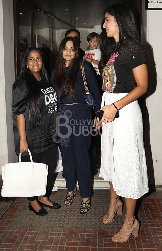 Arpita and Alvira with Katrina