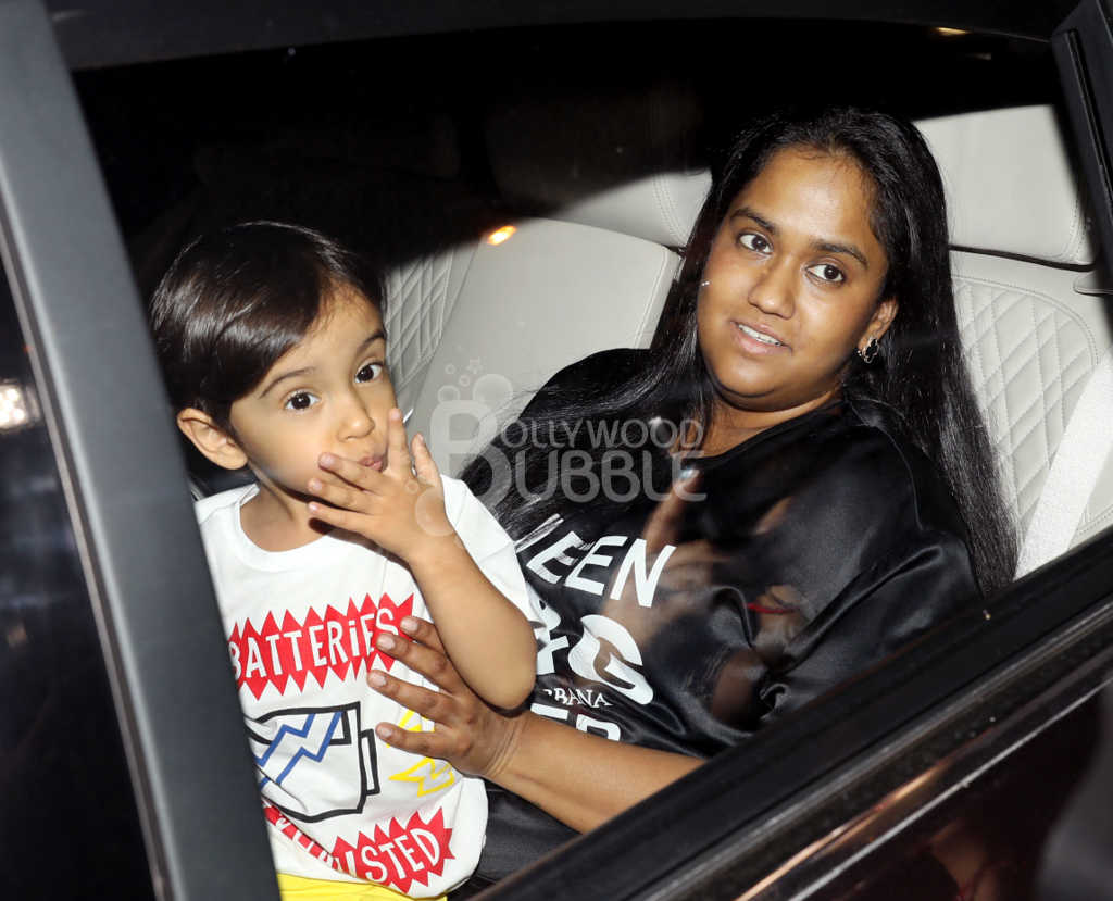 Arpita with son Ahil