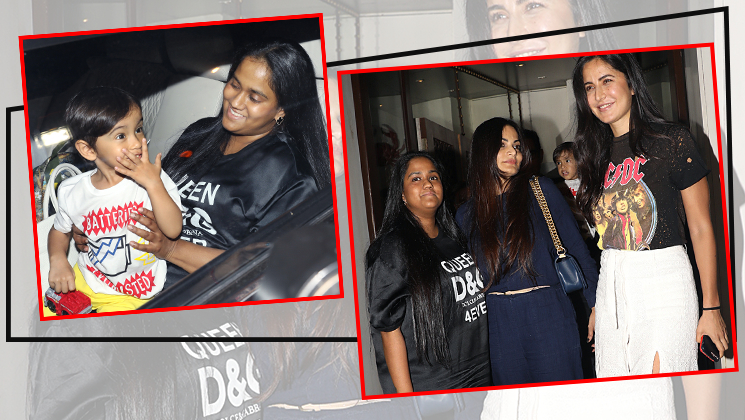 In pics: Katrina Kaif's dinner date with Salman's sister Alvira and Arpita