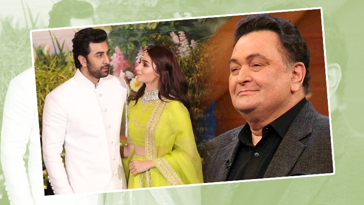 Did Rishi Kapoor give his nod to Alia Bhatt and Ranbir Kapoor's relationship?