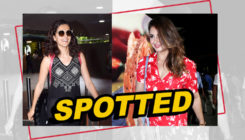 Taapsee Pannu and Huma Qureshi raise the glam quotient in their latest airport outing!