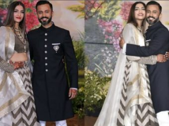 This is what Sonam Kapoor & Anand Ahuja are wearing for their reception