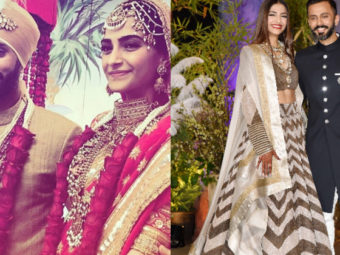 These pictures and videos beautifully summarize Sonam Kapoor-Anand Ahuja's Big Fat Punjabi wedding