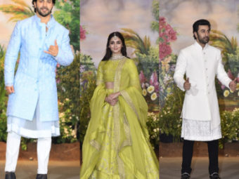 LIVE UPDATES: Guests raise the glam quotient at Sonam-Anand's wedding reception
