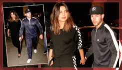 Priyanka Chopra and alleged beau Nick Jonas leave India hand-in-hand