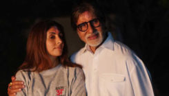Amitabh Bachchan flaunts a special hoodie gifted by daughter Shweta Nanda, view pic