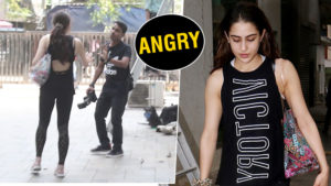 Watch: Sara Ali Khan looses her cool on a photographer