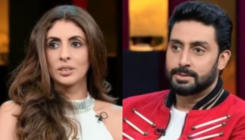 KWK6: Abhishek Bachchan is more scared of wife or mom? Shweta Bachchan answers