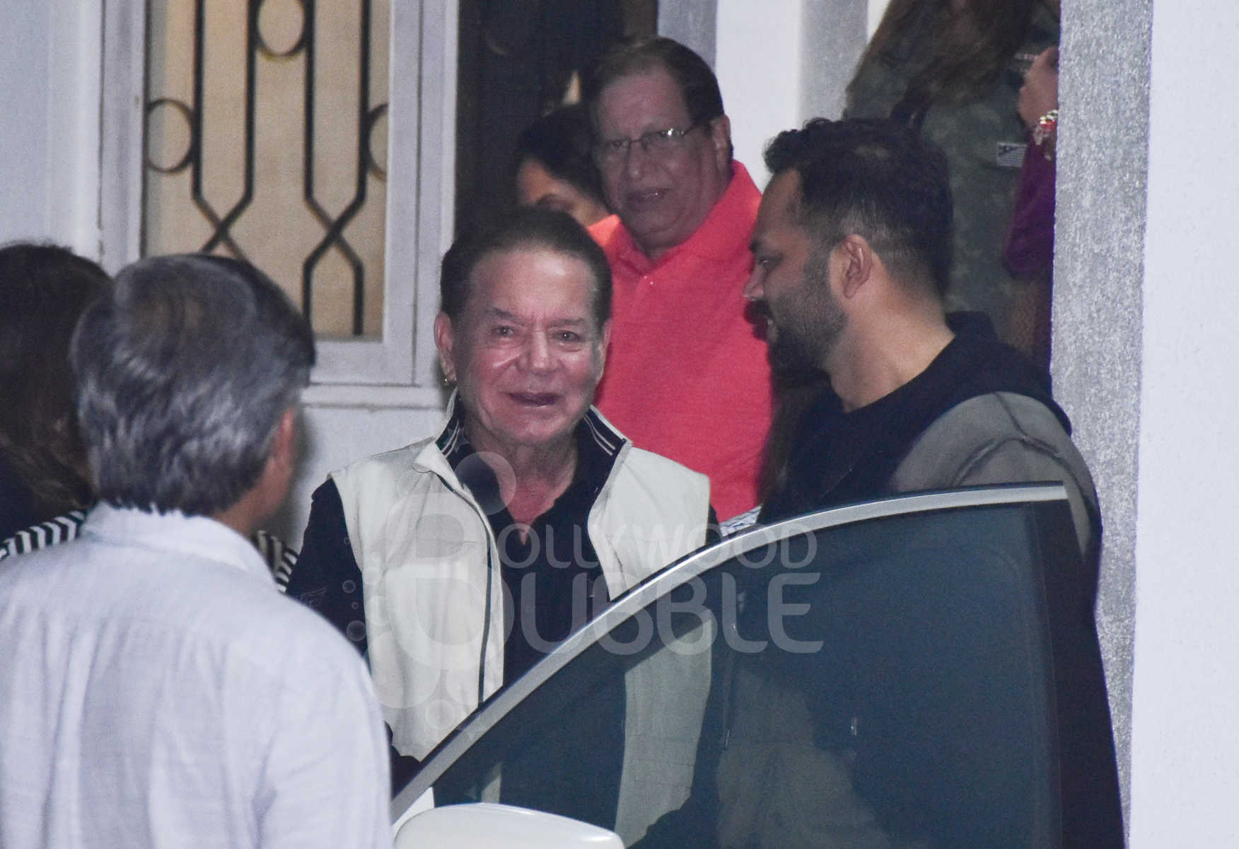 Salim Khan and Rohit Shetty